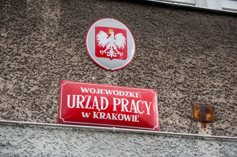 PHOTO KRZYSZTOF KALINOWSKI LOVEKRAKOW.PL KRAKOW WOJEWODZKI URZAD PRACY PRZY PLACU NA STAWACH 2017-03-07