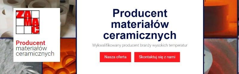 Zamac - producent materiałów ceramicznych